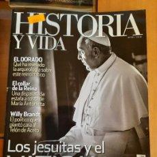 Coleccionismo de Revista Historia y Vida: HISTORIA Y VIDA 550. LOS JESUITAS Y EL VATICANO. Lote 209574692