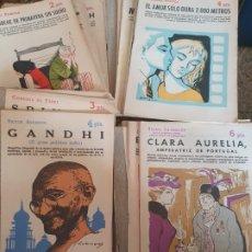 Coleccionismo de Revista Historia y Vida: NOVELAS YCUENTOS 1955 LOTE DE 43 NOVELAS. Lote 209931510