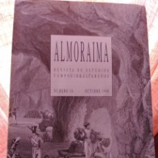 Coleccionismo de Revista Historia y Vida: ALMORAIMA REVISTA DE ESTUDIOS CAMPOGIBRALTAREÑOS NÚMERO 16 OCTUBRE 1996 ALGECIRAS CADIZ. Lote 210957255