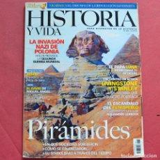 Collectionnisme de Magazine Historia y Vida: HISTORIA Y VIDA - Nº 438 - PIRÁMIDES - EL PAPA LUNA - LA INVASION NAZI EN POLONIA. Lote 211688621