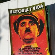 Coleccionismo de Revista Historia y Vida: LOTE HISTORIA Y VIDA 74 NUMEROS CORRELATIVOS, DEL 52 AL 125, MÁS EL 31. Lote 212070065