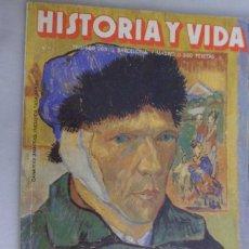 Colecionismo da Revista Historia y Vida: REVISTA HISTORIA Y VIDA Nº 265 VAN GOGH. EL DÍA DEL LIBRO. DOCTOR MENGELE. Lote 212198373
