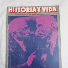 Coleccionismo de Revista Historia y Vida: REVISTA HISTORIA Y VIDA NÚMERO 104. 1976.. Lote 214198060