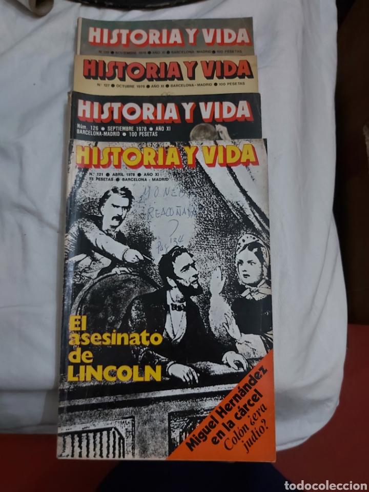 REVISTA HISTORIA Y VIDA NÚMERO 121, 126, 127 Y 128. 1978. (Coleccionismo - Revistas y Periódicos Modernos (a partir de 1.940) - Revista Historia y Vida)