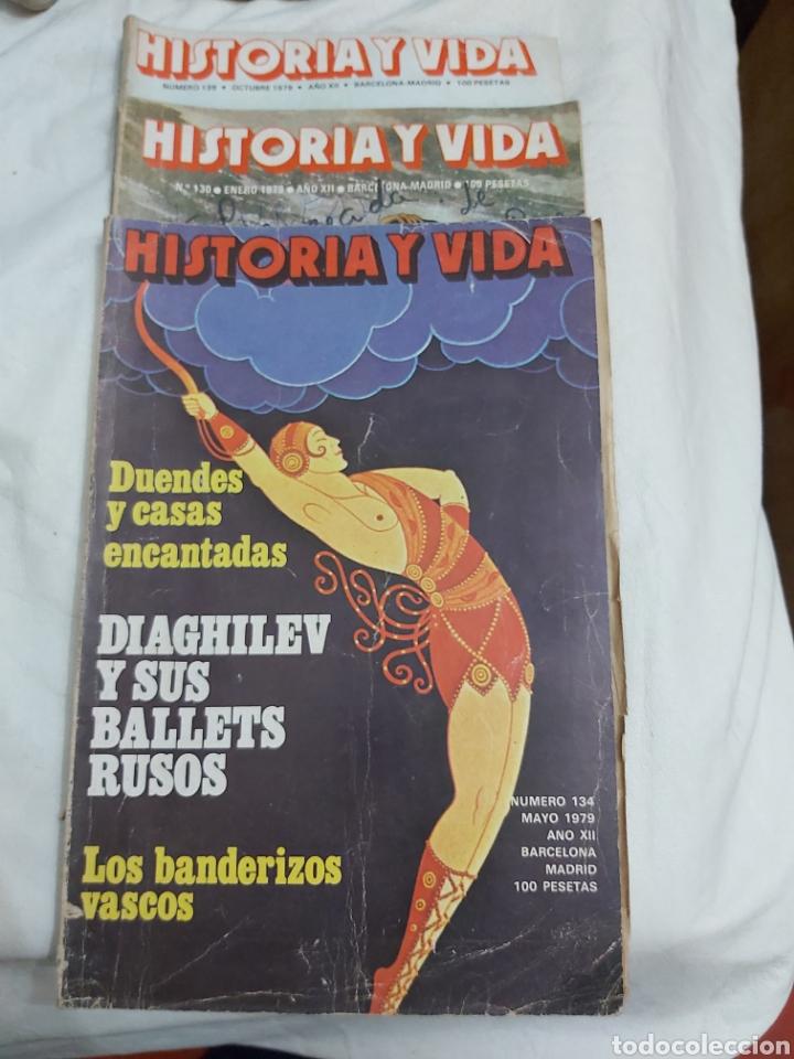 REVISTA HISTORIA Y VIDA NÚMERO 134, 130 Y 139. 1979. (Coleccionismo - Revistas y Periódicos Modernos (a partir de 1.940) - Revista Historia y Vida)