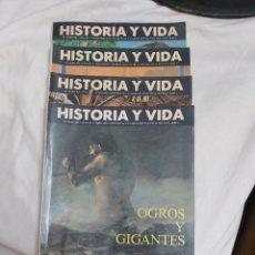 Coleccionismo de Revista Historia y Vida: REVISTA HISTORIA Y VIDA NÚMERO 301, 303, 305 Y 308. 1993. Lote 214199798