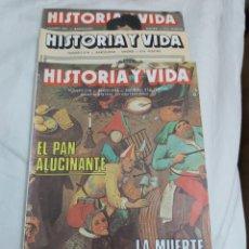 Coleccionismo de Revista Historia y Vida: REVISTA HISTORIA Y VIDA NÚMERO 278, 279 Y 281. 1991.. Lote 214200065