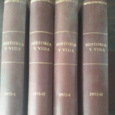 Coleccionismo de Revista Historia y Vida: LOTE 4 GRAN LIBRO DE HISTORIA Y VIDA. Lote 214408836