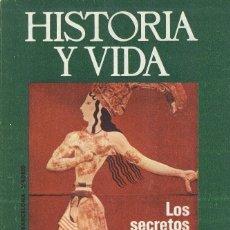Coleccionismo de Revista Historia y Vida: Nº 78 LOS SECRETOS DEL MINOTAURO. COMO ESPAÑA PERDIÓ GIBRALTAR. Lote 218029917