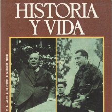 Coleccionismo de Revista Historia y Vida: Nº 89 PRIETO Y LOS BORRADORES SECRETOS DE JOSÉ ANTONIO.. Lote 218030386