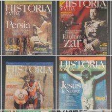 Coleccionismo de Revista Historia y Vida: 7 REVISTAS DE HISTORIA Y VIDA. (LAS QUE SE VEN EN LA FOTO). Lote 219143796