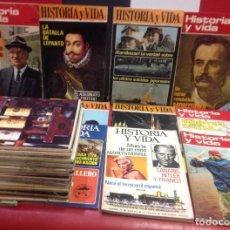 Coleccionismo de Revista Historia y Vida: LOTE DE 34 REVISTAS HISTORIA Y VIDA, AÑOS 70. Lote 219407041