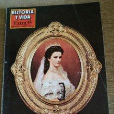 Coleccionismo de Revista Historia y Vida: HISTORIA Y VIDA.EXTRA 33. Lote 220246436