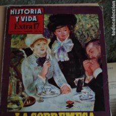 Coleccionismo de Revista Historia y Vida: HISTORIA Y VIDA. EXTRA 17. AÑO 1979. HISTORIA DEL CAFÉ, TÉ, WHISKY, TABACO. Lote 220971337