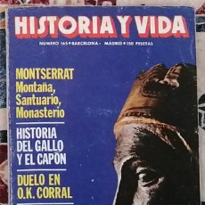 Coleccionismo de Revista Historia y Vida: REVISTA HISTORIA Y VIDA NÚMERO 165. Lote 221373516
