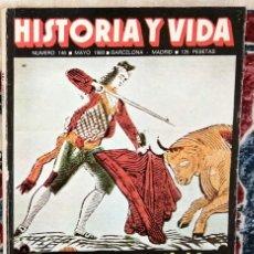 Coleccionismo de Revista Historia y Vida: REVISTA HISTORIA Y VIDA 146 TOROS Y SUPERSTICIÓN. Lote 221392772