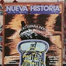 Coleccionismo de Revista Historia y Vida: REVISTA NUEVA HISTORIA NÚMERO 13. Lote 221395127