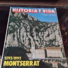 Coleccionismo de Revista Historia y Vida: HISTORIA Y VIDA. Nº 290 - AÑO XXV - MAYO 1992. ATENTADOS CONTRA FRANCO, Y OTROS TITULOS REF UR EST. Lote 221472933