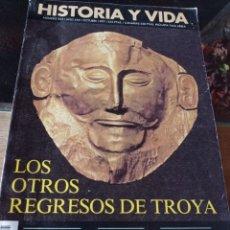Coleccionismo de Revista Historia y Vida: HISTORIA Y VIDA REVISTA NUMERO 355: LOS OTROS REGRESOS DE TROYA REF. UR EST. Lote 221475040