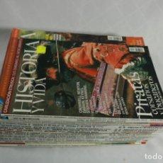 Coleccionismo de Revista Historia y Vida: LOTE DE 18 REVISTAS HISTORIA Y VIDA. Lote 221535056
