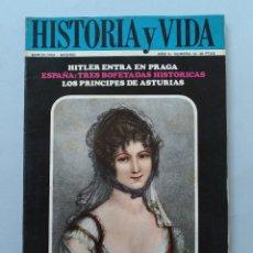 Coleccionismo de Revista Historia y Vida: HISTORIA Y VIDA Nº 12 - AÑO II - LA ESPAÑOLA TERESA CABARRUS - AÑO 1969 ...L2260. Lote 222015470