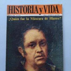 Coleccionismo de Revista Historia y Vida: HISTORIA Y VIDA Nº 18 - AÑO II - GOYA Y LA CONCORDIA ESPAÑOLA - 1969 ...L2264. Lote 222020640
