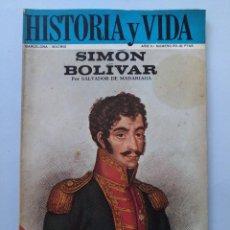 Coleccionismo de Revista Historia y Vida: HISTORIA Y VIDA Nº 20 - AÑO II - SIMON BOLIVAR - 1969 ...L2265. Lote 222021162