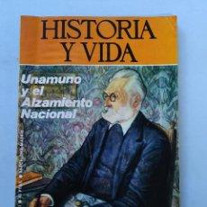 Colecionismo da Revista Historia y Vida: HISTORIA Y VIDA Nº 76 - AÑO VII - UNAMUNO Y EL ALZAMIENTO NACIONAL - 1974 ...L2313. Lote 222366071