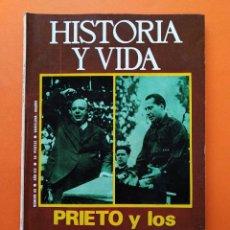 Coleccionismo de Revista Historia y Vida: HISTORIA Y VIDA Nº 89 - AÑO VIII - PRIETO Y LOS BORRADORES SECRETOS DE JOSE ANTONIO - 1975 ...L2326. Lote 222420085