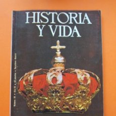 Coleccionismo de Revista Historia y Vida: HISTORIA Y VIDA Nº 94 - AÑO IX - DE ALFONSO XII A JUAN CARLOS I - 1976 ...L2332. Lote 222429547