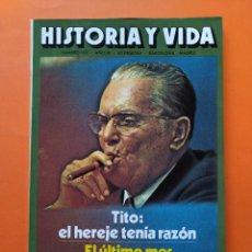 Coleccionismo de Revista Historia y Vida: HISTORIA Y VIDA Nº 101 - AÑO IX - TITO: EL HEREJE TENÍA RAZÓN - 1976 ...L2339. Lote 222432073