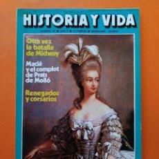 Coleccionismo de Revista Historia y Vida: HISTORIA Y VIDA Nº 107 - AÑO X - EL ESCANDALOSO CASO DEL COLLAR DE LA REINA - 1977...L2345. Lote 222438121