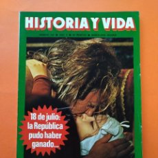 Coleccionismo de Revista Historia y Vida: HISTORIA Y VIDA Nº 109 - AÑO X - CASANOVA Y SUS 122 MUJERES - 1977...L2347. Lote 222438333