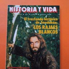 Coleccionismo de Revista Historia y Vida: HISTORIA Y VIDA Nº 112 - AÑO X - EL TRASFONDO HISTORICO DE SANDOKAN - 1977...L2350. Lote 222438896