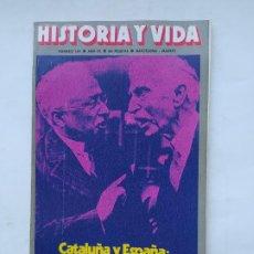 Coleccionismo de Revista Historia y Vida: HISTORIA Y VIDA Nº 104 - AÑO IX - CATALUÑA Y ESPAÑA: ESTATUTO DE AUTONOMIA - 1976. TDKC84. Lote 222867653