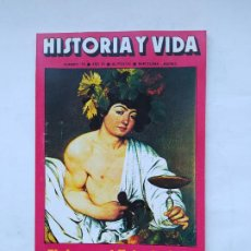 """Coleccionismo de Revista Historia y Vida: HISTORIA Y VIDA Nº 105 - AÑO IX - EL VINO EN EL SIGLO DE ORO, LOS """"TIGRES VOLADORES"""" - 1976. TDKC84. Lote 222867706"""