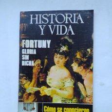 Coleccionismo de Revista Historia y Vida: HISTORIA Y VIDA Nº 71 - AÑO VII - FORTUNY, GLORIA SIN DICHA - 1974. TDKC84. Lote 222868025