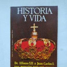 Coleccionismo de Revista Historia y Vida: HISTORIA Y VIDA Nº 94 - AÑO IX - DE ALFONSO XII A JUAN CARLOS I - 1976. TDKC84. Lote 222868307