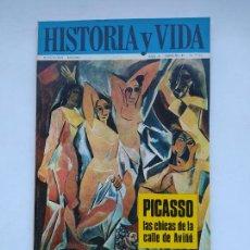 Coleccionismo de Revista Historia y Vida: HISTORIA Y VIDA Nº 45 - AÑO IV - PICASSO, LAS CHICAS DE LA CALLE DE AVIÑÓ. TDKC85. Lote 222884337