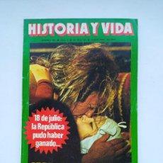 Coleccionismo de Revista Historia y Vida: HISTORIA Y VIDA Nº 109 - AÑO X - CASANOVA Y SUS 122 MUJERES - 1977. TDKC85. Lote 222884828