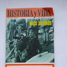 Coleccionismo de Revista Historia y Vida: HISTORIA Y VIDA Nº 13 - AÑO II - HACE 30 AÑOS - AÑO 1969. TDKC85. Lote 222884972