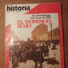 Coleccionismo de Revista Historia y Vida: HISTORIA Y VIDA EL DOMINGO ROJO DEL AÑO X Nº 105. Lote 222967127