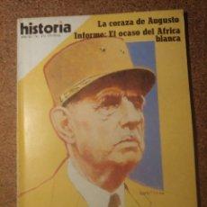 Coleccionismo de Revista Historia y Vida: HISTORIA Y VIDA DE GAULLE LA GRANDEUR DEL AÑO XV Nº 171. Lote 222969298