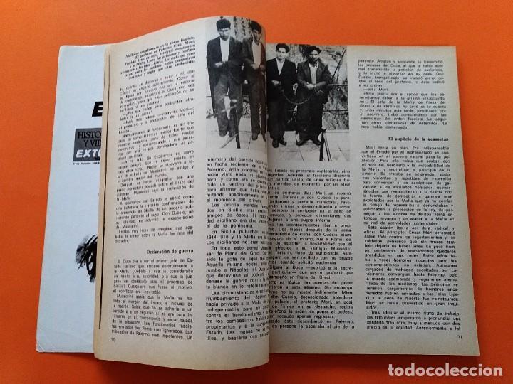 Coleccionismo de Revista Historia y Vida: HISTORIA Y VIDA EXTRA Nº 2 - LOS VERDADEROS PADRINOS, LA MAFIA - 1974...L2463 - Foto 3 - 223198680