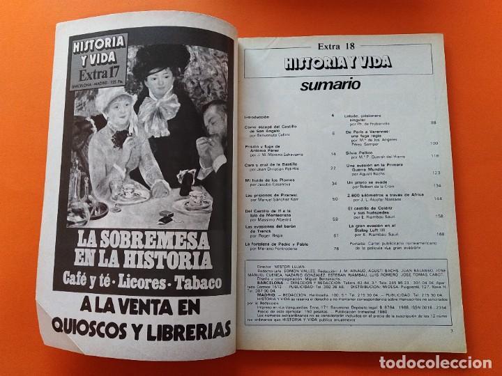 Coleccionismo de Revista Historia y Vida: HISTORIA Y VIDA EXTRA Nº 18 - CARCELES Y EVASIONES - 1978...L2472 - Foto 2 - 223203673
