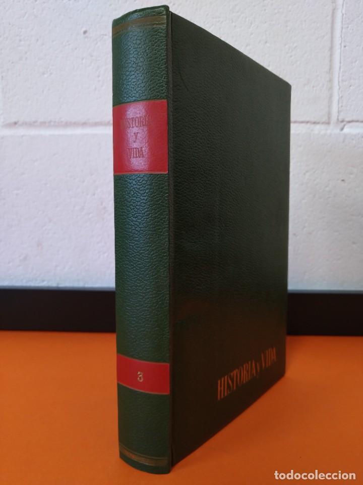 """REVISTA - """"HISTORIA Y VIDA"""" ENCUADERNADA - 3 - AÑO II - Nº ( 15 AL 20 ) - AÑO 1969...L2513 (Coleccionismo - Revistas y Periódicos Modernos (a partir de 1.940) - Revista Historia y Vida)"""
