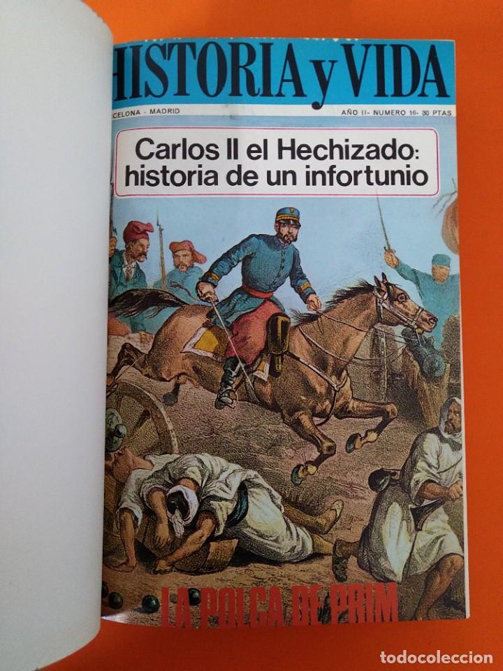 """Coleccionismo de Revista Historia y Vida: REVISTA - """"HISTORIA Y VIDA"""" ENCUADERNADA - 3 - AÑO II - Nº ( 15 AL 20 ) - AÑO 1969...L2513 - Foto 3 - 223900247"""