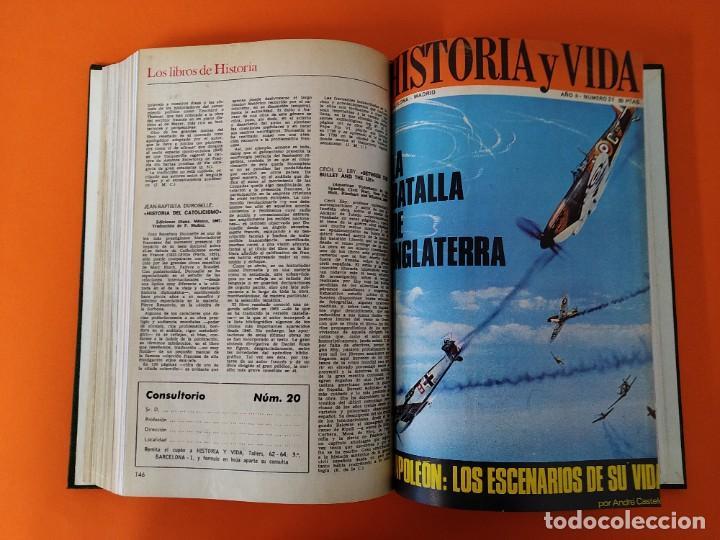 """Coleccionismo de Revista Historia y Vida: REVISTA - """"HISTORIA Y VIDA"""" ENCUADERNADA - 3 - AÑO II - Nº ( 15 AL 20 ) - AÑO 1969...L2513 - Foto 6 - 223900247"""