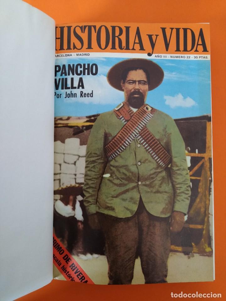 """Coleccionismo de Revista Historia y Vida: REVISTA - """"HISTORIA Y VIDA"""" ENCUADERNADA - 4 - AÑO III - Nº ( 20 AL 25 ) - AÑO 1970...L2514 - Foto 3 - 223901582"""
