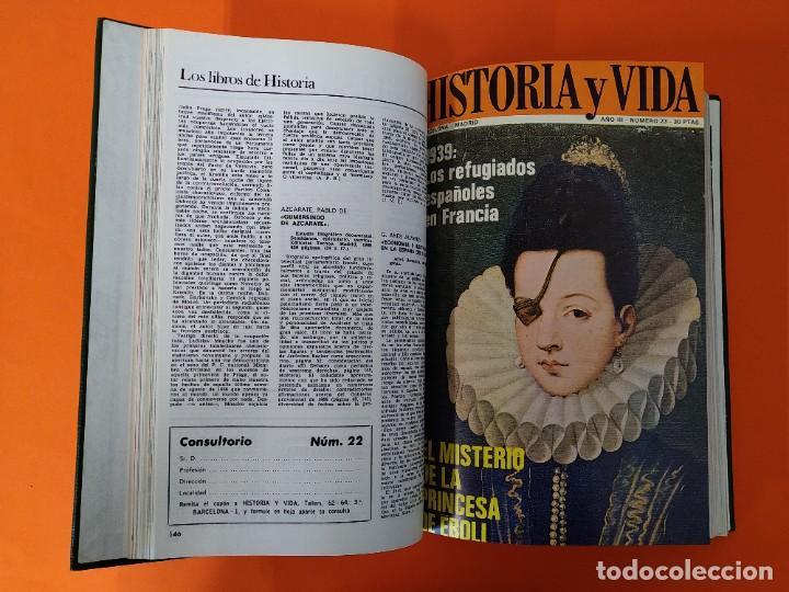 """Coleccionismo de Revista Historia y Vida: REVISTA - """"HISTORIA Y VIDA"""" ENCUADERNADA - 4 - AÑO III - Nº ( 20 AL 25 ) - AÑO 1970...L2514 - Foto 4 - 223901582"""